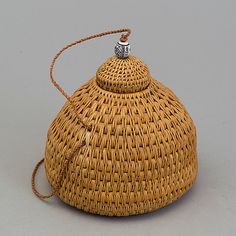 Sami basket by Ellen Kitok