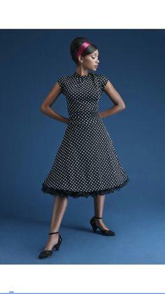 12058d8735 Dance Floor Date Dress in Dots