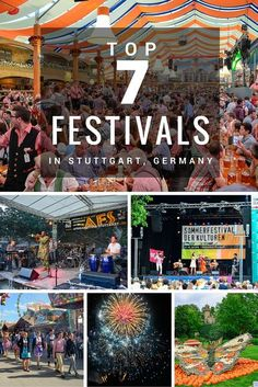 Our #Germany correspondent, Adi, shares her top 7 #festivals in the Stuttgart area, for your fix of German tradition, food, and fun, all year round.