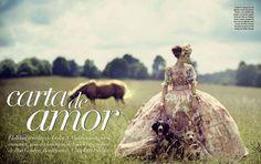 """Carta De Amor"" : Karlina Caune : Vogue Mexico December 2012 : Boo George | Fashion Editorials | A Photographic Collection of Trending Fashion Magazine Editorials"