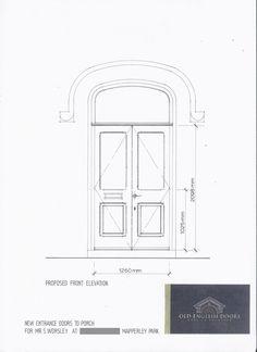 front door drawing. Door Design Service \u2022 Custom Doors Designed \u0026 Made To Order. Entrance DoorsDoor DesignDrawings Front Drawing