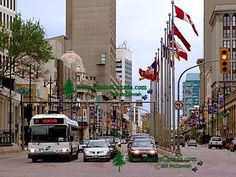 Portage and Main, Winnipeg's historic and most famous urban intersection #GILoveManitoba