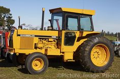The Australian Chamberlain company was eventually taken over by John Deere and for a while John Deere models were made in Australia by Chamberlain, often carrying both manufacturer's logos. This 2-wheel drive 1980s 85 HP 4080 was one of these models and was made from 1975-85.