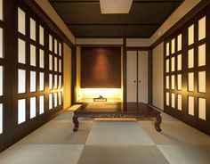 琉球畳で和モダンも演出