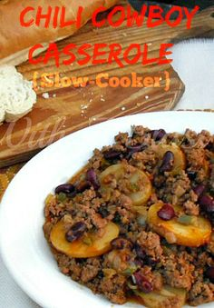 Cooked in the Slow-Cooker to perfection ~ no need to check on this dish