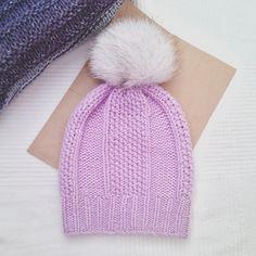 ❄Очень мягкая шапочка