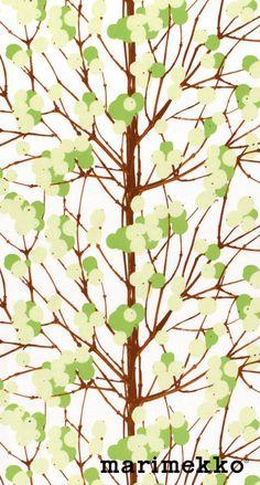 マリメッコ/ネイチャーパターン12 iPhone壁紙 Wallpaper Backgrounds iPhone6/6S and Plus Marimekko Nature Pattern iPhone Wallpaper