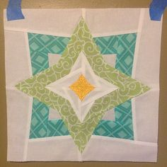 3x6 bee blocks #1! Awesome pattern @fromblankpages :) | Flickr - Photo Sharing! Pattern: Two Stars Squared by Diane Bohn fromblankpages...