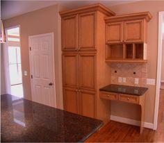 Kitchen pantry/desk organization