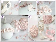Dica de como deixar sua decoração perfeita, faça você mesma: bolas de flores em papel!