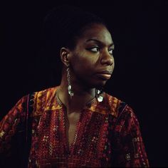 """""""Jazz is not just music, it's a way of life, it's a way of being, a way of thinking...the new inventive phrases we make up to describe things – all that to me is jazz just as much as the music we play."""" — Nina Simone • photo uncredited • date unknown"""