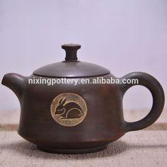 Make in China Modern Purple Clay Teapot Rabbit Design Teapots