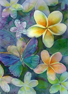 frangipanis dream by *karincharlotte  so beautiful!