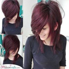 Hair Cutting Style how to style emo hair without cutting it Medium Hair Cuts, Short Hair Cuts, Medium Hair Styles, Curly Hair Styles, Haircut Medium, Emo Haircuts, Frontal Hairstyles, Great Hair, Gorgeous Hair
