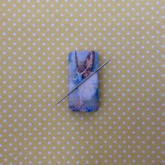 A personal favourite from my Etsy shop https://www.etsy.com/uk/listing/464670305/fairy-needle-minder-needleminders #needleminder #sewing #stitching #crissstitch #embroidery #magnet #fairy #fairies #etsy