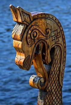 Viking Ship Figurehead