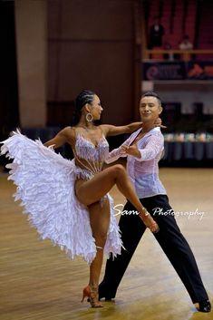 Tail feathers! Latin Dance - Ballroom