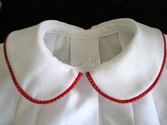SewNso's Sewing Journal: {How to attach a Peter Pan Collar}. Necessary info for my new dress