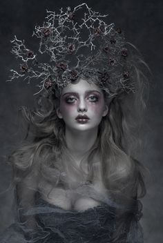 Dark Beauty Magazine - Model:Dana Mostek, Photographer/Costume/Make Up:Agnieszka Jopkiewicz