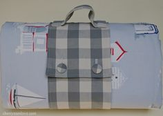 Picnic Blanket Love the strap and handle for this.