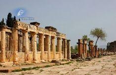 Antike Stadt Hierapolis Türkei