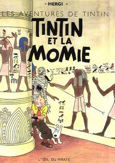 Les Aventures de Tintin - Album Imaginaire - Tintin et la Momie