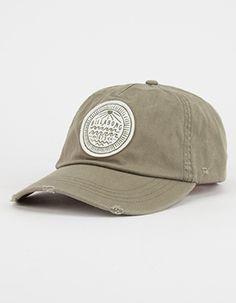 ddd0eea3975 BILLABONG Camp Surf Womens Dad Hat Green Winter Hats For Women