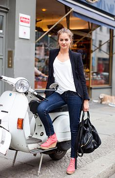 i love the new model of vespa. the retro handle bar is great. i like mine...but i like these better