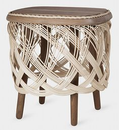 beautiful woven furniture @ MOMA store