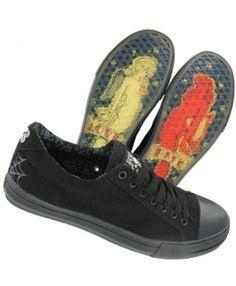 Lucky 13 Dagger Canvas Lo-Top Shoes