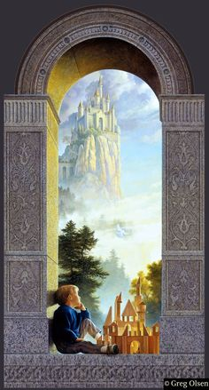 Castles in the Sky, by Greg Olsen