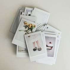 something about a stack of #polaroids intrigues me.