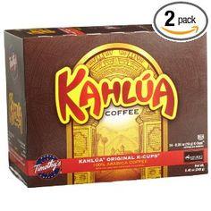 Kahlua Original K-Cup Coffee #AmazonGrocery