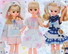 TAKARA TOMY Licca Rika Chan 1//6 9 inch Doll Cinnamoroll LD-13 Sanrio Kitty JAPAN