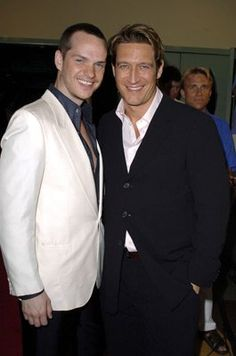 Robert Gant and Peter Paige at event of Queer as Folk (2000)