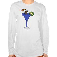 Funny Sea Otter in Blue Margarita Drink Tshirts #seaotter #otters #funny #shirts #margaritas And www.zazzle.com/tickleyourfunnybone*
