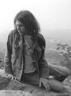 Neil Young photographed by Henry Diltz, 1975