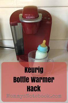 Keurig Bottle Warmer Hack