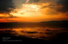 sunset by lucamoriconi