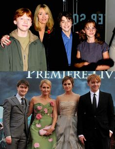 From the first Harry Potter Premiere to the last Harry Potter Premiere.