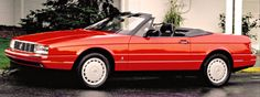 http://chicerman.com  carsthatnevermadeit:  carsthatnevermadeit:  Cadillac Allanté 1986-1993. A two-seater roadster designed and built by Pininfarina. The car bodies were manufactured in Italy and flown in Boeing 747s 56 at a time to Cadillacs assembly plant in Detroit/Hamtramck where they were mated with the front wheel drive chassis and engine assemblies  The Allanté was the first production car to have a front-transversally mounted V8 engine  #cars