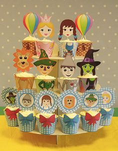 Wizard of Oz Ultimate Cupcake Wrappers PDF Pack