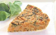The proportions of chickpea flour, water and oil for this frittata in this recipe create an incredibly creamy result that still sets up perfectly.