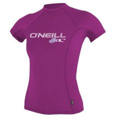 #8: O'Neill Wetsuits Women's Basic Skins Short Sleeve Crew.