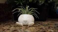 Oddish Pokemon Planter by EngraveCraze on Etsy