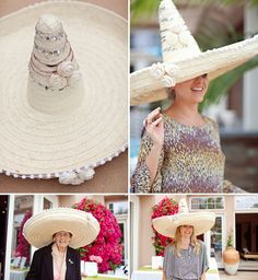 Bride-to-be Sombrero