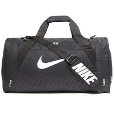 0a95919a8f1a Nike Large Duffle Bag (4.550 ISK) ❤ liked on Polyvore featuring men s  fashion