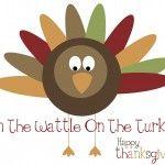 Pin the wattle on the turkey