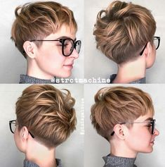 10 new short hairstyles for thick hair, women haircut I .- 10 neue kurze Frisuren für dickes Haar, Frauen Haarschnitt Ideen 10 new short hairstyles for thick hair, women haircut ideas - Short Hairstyles For Thick Hair, Short Pixie Haircuts, Short Hair Cuts, Bob Hairstyles, Curly Hair Styles, Hairstyle Short, Thick Short Hair, Shaggy Pixie Cuts, Edgy Pixie