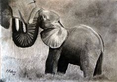 Mother love ... by Pieta Pieterse.....love this and love the artists name!